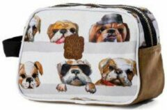 Pick & Pack Dogs Toilettas - White Multi