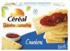 8x Cereal Crackers Glutenvrij En Lactosevrij 250 gr
