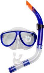 Blauwe Waimea Duikmasker met Snorkel - Senior - Kobalt