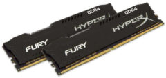 Kingston Technology GmbH Kingston HyperX FURY - DDR4 - 16 GB: 2 x 8 GB HX432C18FB2K2/16