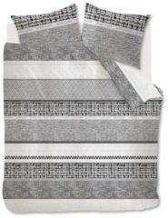 Riviera Maison Rivièra Maison Primrose Hill - Dekbedovertrek - Eenpersoons - 140x200/220 cm + 1 kussensloop 60x70 cm - Zwart
