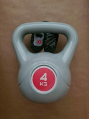 Rode Kaytan Kettlebell 4 kg - Fitness - Krachttraining - Halters en Gewichten