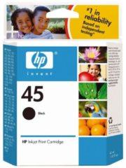 Tinte schwarz Nr. 45 (51645A) HP bunt/multi