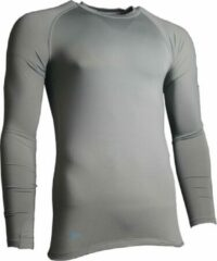 Precision Training Thermoshirt Basislaag Junior Polyester Grijs Maat M