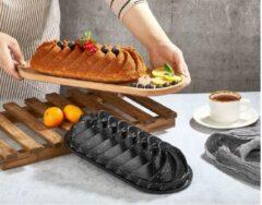 Zwarte Polo Chef - Bakvorm - 33 cm