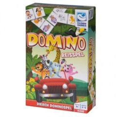 Groene Clown Games Domino Reisspel 28-delig