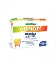PHYTO GARDA Vitadyn Ricarica Alkalin integratore alimentare di sali minerali 14 bustine