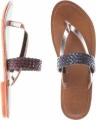 Inuovo - sandalen - maat 38 - dames - bruin goud - leder