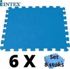 Blauwe Merkloos / Sans marque 48 tegels
