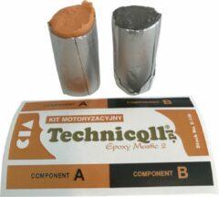 Technicoll Kneedbare | Hittebestendige | Reparatiepasta | Metaal | Staal | Aluminium | Kunststof | 35 g E-136