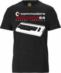 Zwarte Logoshirt Heren T-shirt Maat XXL