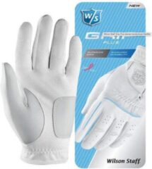 Witte Wilson Staff Grip Plus dames handschoen Rechts L