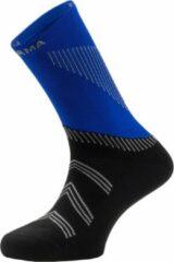 Enforma - Londres Cool & Dry - hardloopsokken - blauw/zwart - S (36-38)