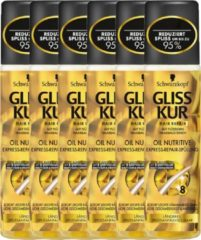 Gliss Kur Anti-Klit Spray Oil - 6 x 200ml - voordeelverpakking