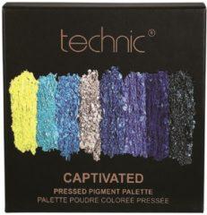 Blauwe Technic Pressed Pigments Oogschaduw Palette - Captivated