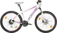27,5 Zoll Damen Mountainbike 24 Gang Sprint... weiß-violett, 48cm