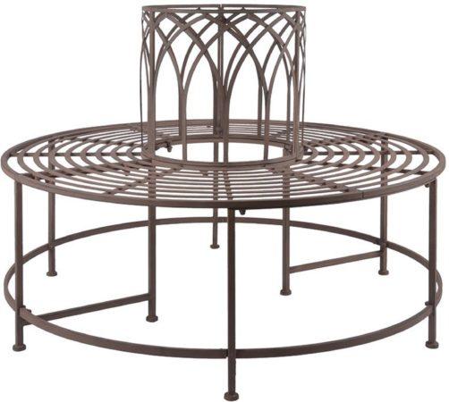 Afbeelding van Esschert design Boombank metaal Old Rectory