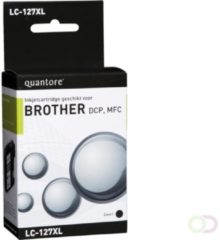 Inkcartridge Quantore Brother LC-127XL zwart