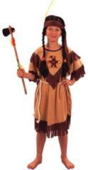 Beige Confetti shopping Group Indianen meisje 7-9 jaar (120-130cm)