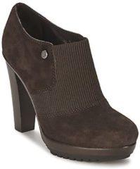 Bruine Low Boots Alberto Gozzi SOFTY MEDRA