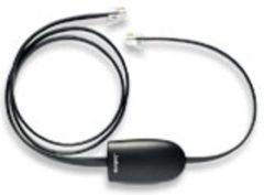 Zwarte Jabra Cable Polycom adapt EHS ps SIP Polycom