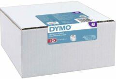 DYMO Rol met etiketten 2093095 2093095 57 x 32 mm Papier Wit 12000 stuk(s) Permanent Universele etiketten