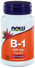 Now Foods Now Vitamine B1 100 Mg Trio (3x 100tab)