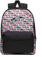 Vans Realm Backpack i heart boys girls backpack