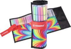 STABILO Pen 68 - Premium Viltstift - Rollerset - ARTY Edition - Set Met 25 Verschillende Kleuren