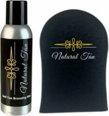 Natural an Natural Tan - Self Tan Bronzing Mist incl. handschoen - zelfbruiner - 200 ml
