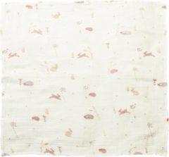 Beige Taftan - Hello World - Swaddle - Multidoek van hydrofiel 120 x 120 cm