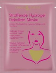 Roze CHIARA AMBRAaanscherping Hydrogel Decolleté Masker - Pure Moisturizer®