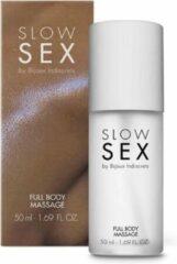 Slow Sex Full Body Massage Gel - 50 ml     Olie   Geuren   Erotische   Erotisch   Massage   Body to Body   Therme   Glijmiddel   Set   Seks   Mannen   Vrouwen   Valentijn