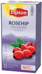 Lipton Tea Company Lipton thee, rozebottel, pak van 25 zakjes