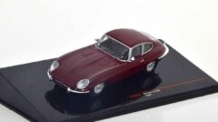Donkerrode Jaguar E-Type 1963 - 1:43 - IXO Models