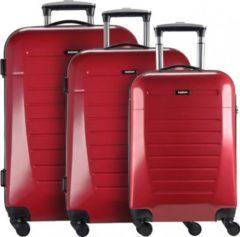 Malaga 4.0 4-Rollen Kofferset 3tlg. NOWI rot