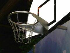 Roestvrijstalen Intergard Basketbal ring RVS voor openbare speelplaatsen
