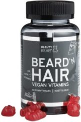 Beauty Bar Beauty Bear Hair Vitamines Hair Vitamines, 60 Gummies - MEN