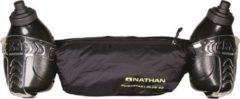 Zwarte Nathan QuickStart Plus 20 2x300ml Black - Drinkgordel