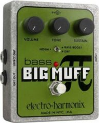 Electro Harmonix Bass Big Muff bas distortion/fuzz/overdrive pedaal