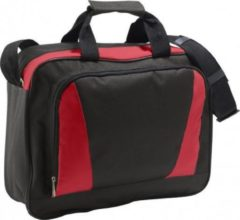 Sols Laptop tas rood/zwart 40 cm - Documententas rood/zwart