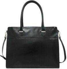 Zwarte Claudio Ferrici Classico Businessbag 15.6'' black