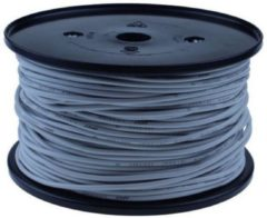 QSP Products PVC stroomkabel Grijs 1 x 1,5 mm2 (100m).
