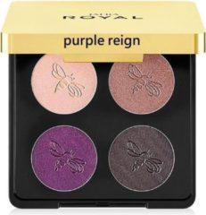 Paarse Jafra Royal Luxury Eyeshadow Quad Purple Reign