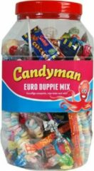 CANDYMAN Euro Duppie Mix - kinderfeest grabbelton snoepmix 100st -800gr