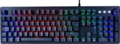 Zwarte Silvergear Mechanisch Toetsenbord – Gaming Mechanical Keyboard - Qwerty