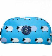 Become - Pennenzak blauw met schaapjes