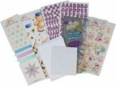 Docraft Forever friends decoupage gift set- uitrdukvellen geschenkset