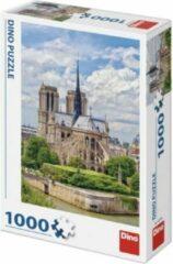 Dino Toys Puzzel Kathedraal Notre-Dame Parijs 1000 Stukjes