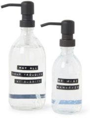Transparante Wellmark Stay Safe desinfecterende handgel & handzeep - Limited Edition verzorgingsset